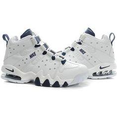 www.asneakers4u.com Charles Barkley Shoes Nike Air Max2 CB 94 White Dark 446529ca4
