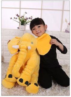 37.17$  Watch here - https://alitems.com/g/1e8d114494b01f4c715516525dc3e8/?i=5&ulp=https%3A%2F%2Fwww.aliexpress.com%2Fitem%2Flarge-55x60cm-soft-cartoon-elephant-plush-toy-yellow-elephant-doll-soft-throw-pillow-birthday-gift-Christmas%2F32770062527.html - large 55x60cm soft cartoon elephant plush toy yellow elephant doll soft throw pillow birthday gift ,Christmas gift c1215