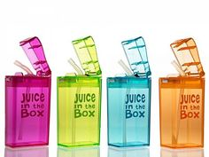 Juice in the box, refillable juice boxes!!!