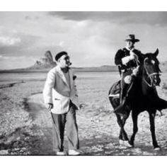 John Ford and John Wayne