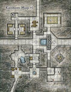 Kencyclopedia Kender Cartography Old Mansion Rpg