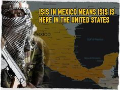 ISIS in Mexico Means ISIS Is Here In the United States....Must watch video.... Open boarders,did you know in TX they have a bridge to cross from Mexico to the US!!!!!!!!!!!!!Check it out it is in this video.