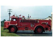 1959 Walter Maxim Fire Truck Photo Columbus Ohio
