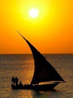 Zanzibar Sunset - Zanzibar