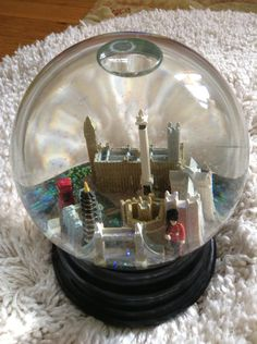London Saks Fifth Ave Snow Globe by BlackCatTales on Etsy, $495.00