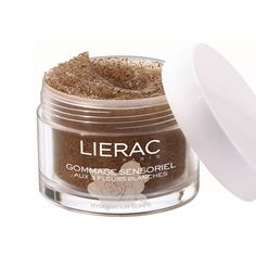 Lierac - Sensoriel Scrub - -A unique gel-oil texture that transforms into a milk upon contact with damp skin for skin-smoothing, toning, and invigorating exfoliation. Three white flower extracts and four precious botanical oils regenerate and soften the skin.