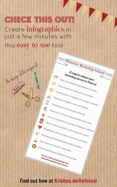 How to create infographics quickly and easily for your  -- Visual content marketing tool - How to make your own infographics with this quick and easy tool which is perfect for small businesses with a limited budget. See an example infographic I created here http://pinterest.com/pin/287315651200708194