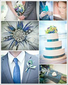 A little blue wedding inspiration!