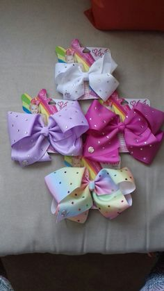 My jojo siwa bow collection