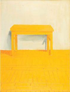 Wilhelm Sasnal , Bez tytułu, 1998 r., olej/płótno, 119 x 90 cm