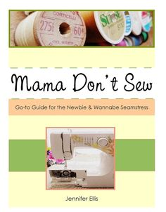 Learn to Sew eBook // Beginners Sewing Guide // PDF