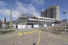 Voortgang van de bouw op 2 april