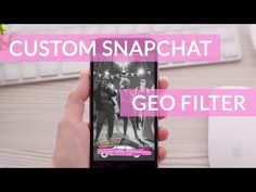 How to create a Snapchat Geo Filter - YouTube