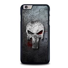 The Punisher Metal Phone Case Cover Fits Iphone 4 5 6 7 6s Plus Case, Iphone 6 Plus Case, Iphone 7, Apple Iphone, Punisher Marvel, Silicone Rubber, Phone Cases, Quality Printing, Accessories