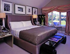 Спальни в стиле арт-деко – идеальное вдохновение |  Смотрите больше: http://homeandinteriors.ru/