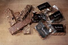 Great protein- and energy bars from the  Danish company RawSnacks