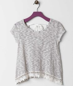 Girls - Daytrip Studded Top - Girl's Shirts/Tops   Buckle