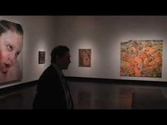 Paint Made Flesh exhibition at the Frist Center; discussion of Jenny Saville's ability to paint flesh.