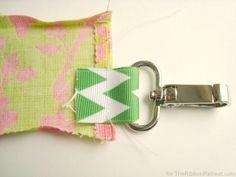 Fabric and Ribbon Lanyard Tutorial - The Ribbon Retreat Blog