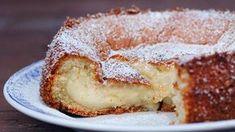 Tämä vaniljakakku syntyi virheen kautta. Ooey Gooey Cake, Sweet Recipes, Cake Recipes, Cookie Cake Pie, English Food, Pastry Cake, Desert Recipes, No Bake Desserts, No Bake Cake