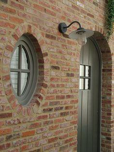 Exterior Color Palette, Exterior Colors, Exterior Design, Cottage Front Doors, Magnolia Fixer Upper, Brick Facade, Front Door Colors, Exterior Remodel, House Elevation