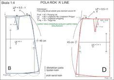 ramoe ratjik: A -Line Skirt