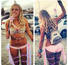 Unicorn Rave Outfit