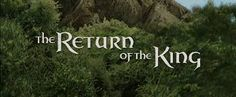 Image result for the lord of the rings the return of the king