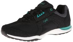RYKA Women's Transition Training Shoe,Black/Dynasty Green,8.5 M US