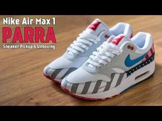 0f3f75b27d8c4c Parra x Nike Air Max 1 Sneaker Pickup and Unboxing