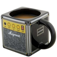 music inspired mug, give me coffee so I can rock out!