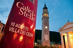 Sunday 10 August raise the wine glasses under the stars! #VilladeiCedri - Valdobbiadene - #CALICI DI STELLE!  You will taste also our Valdobbiadene Prosecco Superiore DOCG Brut
