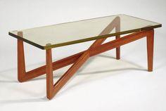 René-Jean Caillette, Coffee table, 1950s.