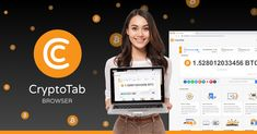 CryptoTab Browser - Lightweight, fast, and ready to mine! Bitcoin Mining Software, Free Bitcoin Mining, Bitcoin Miner, Fast Browser, Web Browser, Blockchain, Navigateur Web, Instant Messenger, Crypto Mining