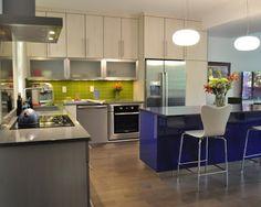 combinações de cores de cozinha que você vai adorar