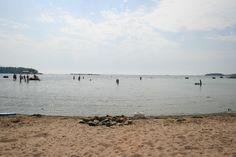 Lauttasaari beach