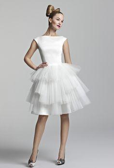 Tobi Hannah   Tobi Hannah Bridal   Youthquake   Tea Length Dresses, Short Wedding Dresses