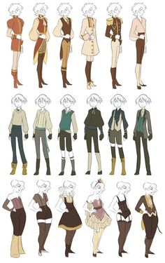 Clothes reference fantasy outfits, fantasy clothes, clothing sketches, fashion sketches, drawing tips Character Design Cartoon, Character Design References, Character Design Inspiration, Character Art, Character Design Tips, Character Design Tutorial, Character Reference, Clothing Sketches, Fashion Sketches