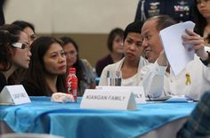 MEETING for the second time with the families of the police commandos slain in the secret Mamasapano operation on Jan. President Benigno Aquino III again. Current News, The Secret, Presidents, Families, First Love, Police, Two By Two, Place Card Holders, Photos
