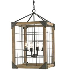 View The Currey And Company 9139 Salvage 4 Light Single Tier Chandelier At LightingDirect