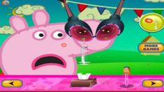 (Peppa pig nose doctor) barbie games for girls to play for kids