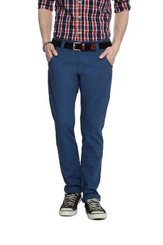 Don't miss out these trendy Men's Trousers having discounts upto 60% . Best Party Wear Casual Trousers at Sale.