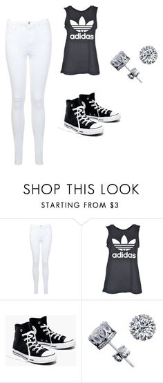 """""""addi"""" by cameronreeseevers ❤ liked on Polyvore featuring Miss Selfridge, adidas and Madewell"""