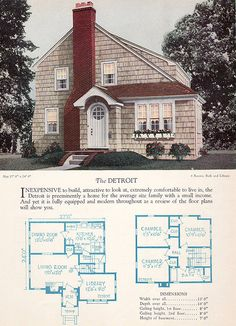1928 Home Builders Catalog - The Detroit | Flickr - Photo Sharing!
