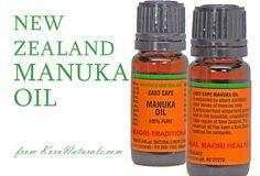 New Zealand Manuka Oil from www.KoruNaturals.com