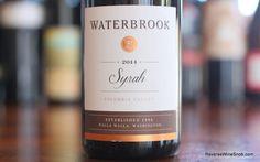Waterbrook Syrah  Solidly Satisfying!