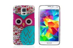 Cartoon Owl Pattern Snap-on Hard Plastic Protector Cases for Samsung Galaxy S5 | Lagoo Tech