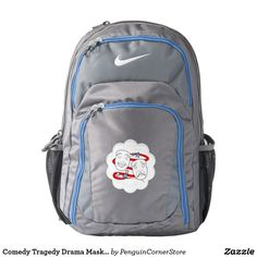 Comedy Tragedy Drama Masks American Theater Backpack