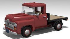 10290 Pickup Truck (Flatbed Mod) Truck Flatbeds, Pickup Trucks, Lego Vehicles, Pick Up, Monster Trucks, Ram Trucks