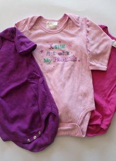 Kaufe meinen Artikel bei #Mamikreisel http://www.mamikreisel.de/kleidung-fur-madchen/sets-and-kleidungspakete/37784880-3-bodies-fur-madchen